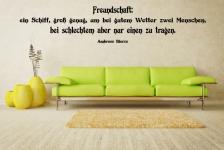 zitate sprichw rter wandtattoos online bei print it all kaufen. Black Bedroom Furniture Sets. Home Design Ideas