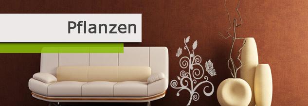 blumen pflanzen wandtattoos online bei print it all kaufen. Black Bedroom Furniture Sets. Home Design Ideas