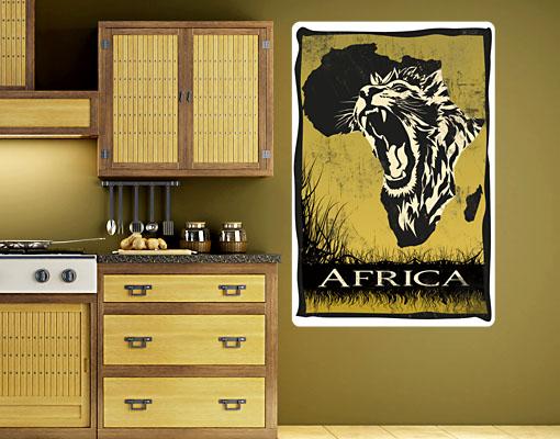 Wallprint Im Herzen Afrikas S - 36cm x 54cm