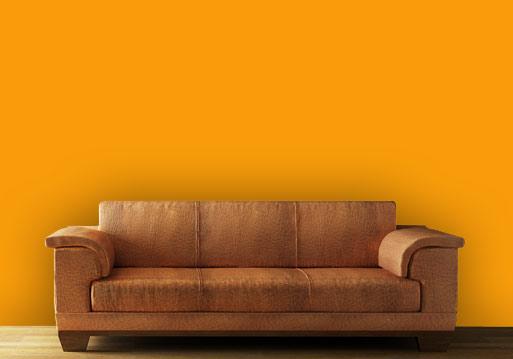WandflÀche gestalten orange