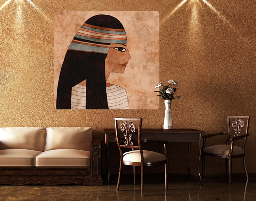 Wallprint Cleopatra S - 36cm x 36cm