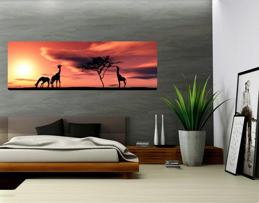 Wallprint African Life S - 54cm x 18cm