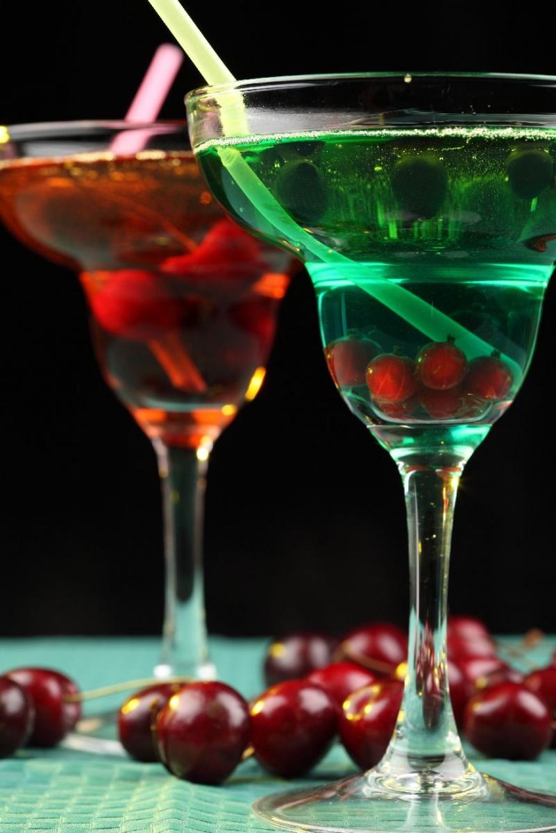"""Wallprint """"Cocktail für Zwei"""""""