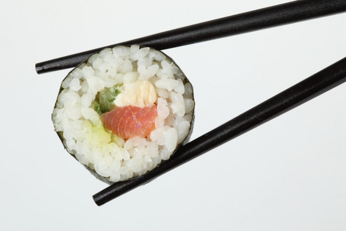 """Poster """"Sushi Stäbchen"""""""