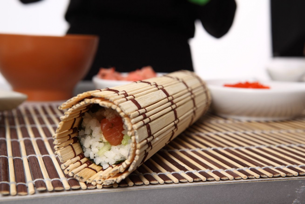 """Poster """"Sushi Rolle"""""""