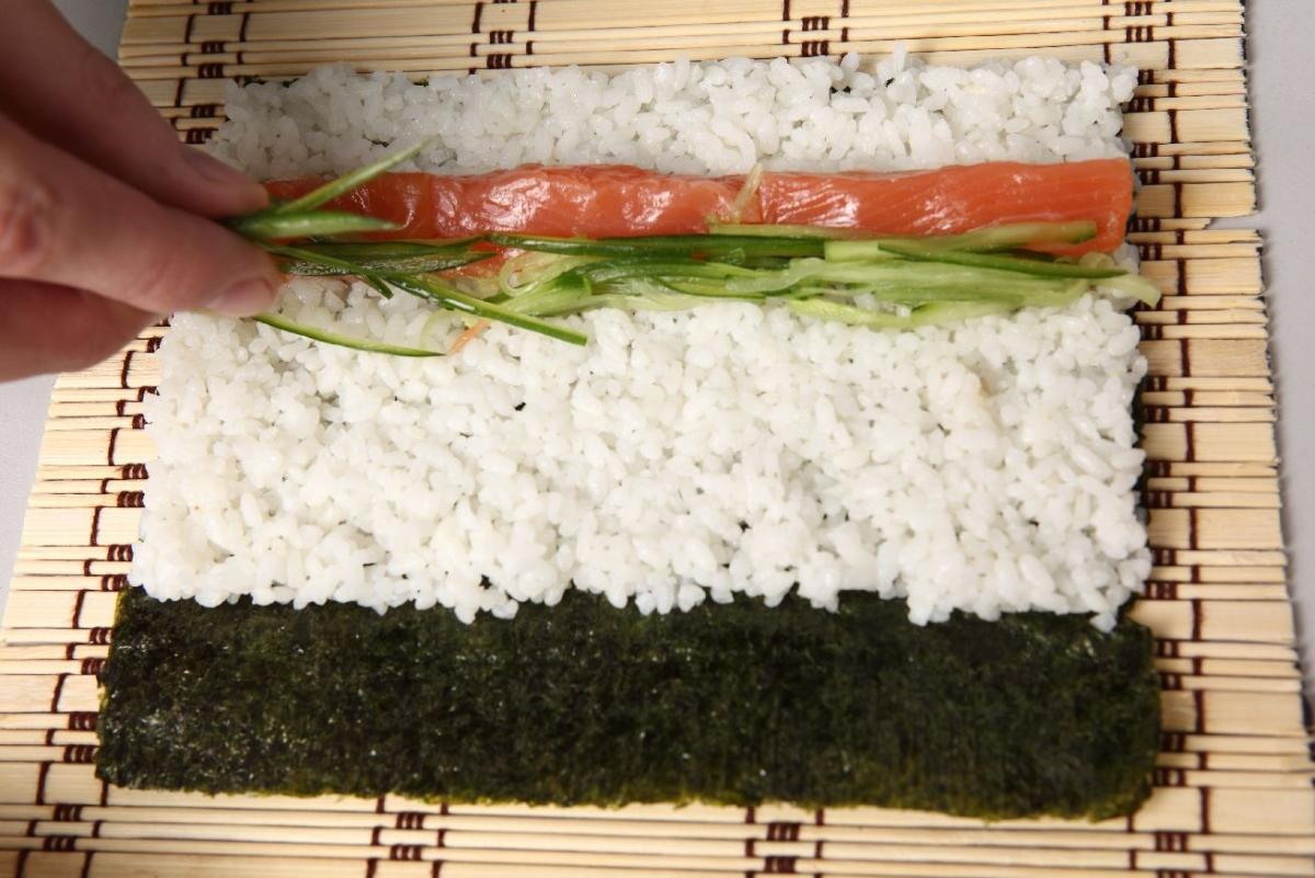 """Wallprint """"Sushi Anrichten"""""""