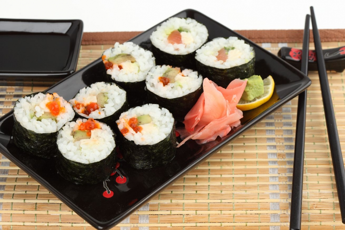 """Wallprint """"Sushi Arrangement 2"""""""
