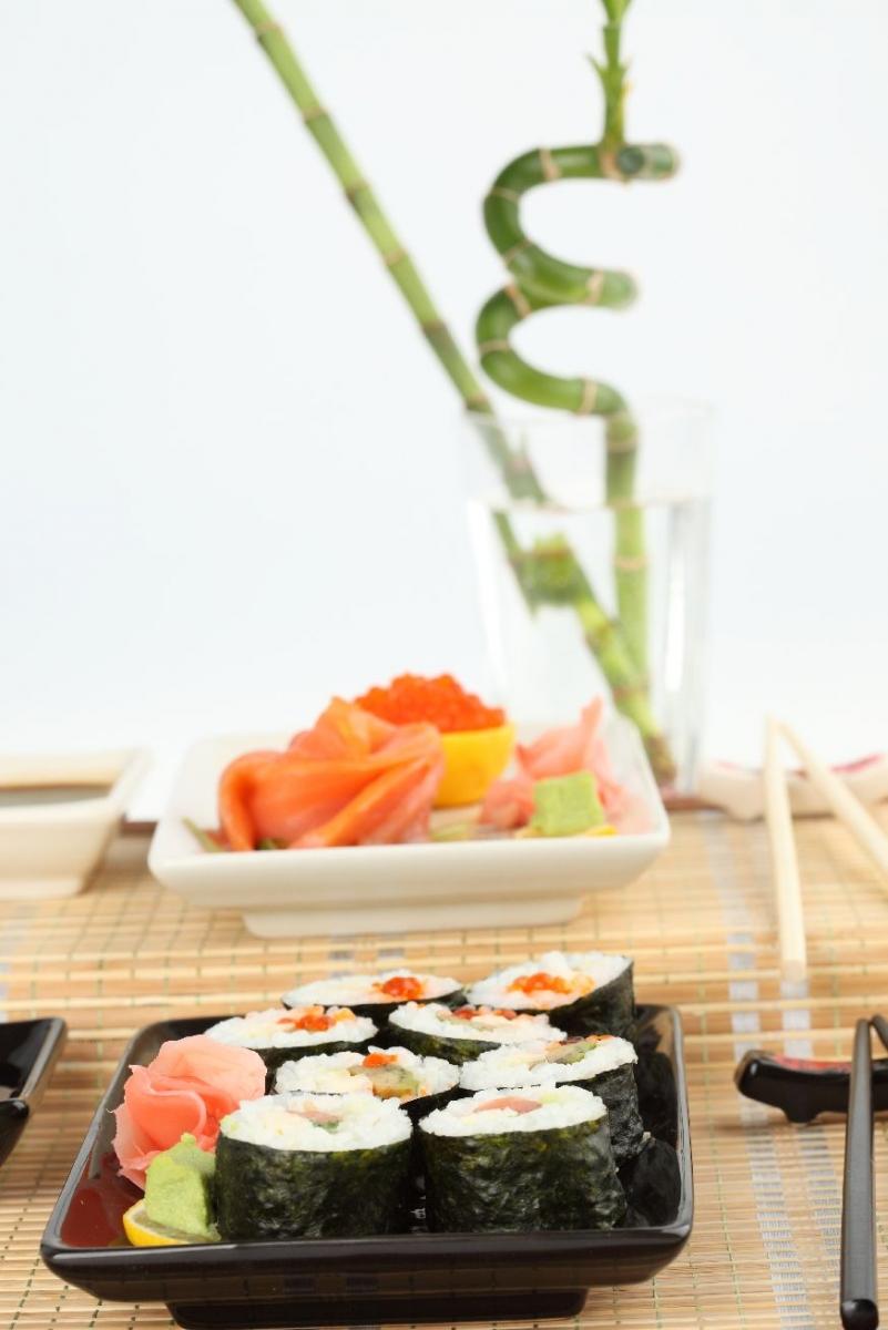 """Wallprint """"Sushi Arrangement 5"""""""