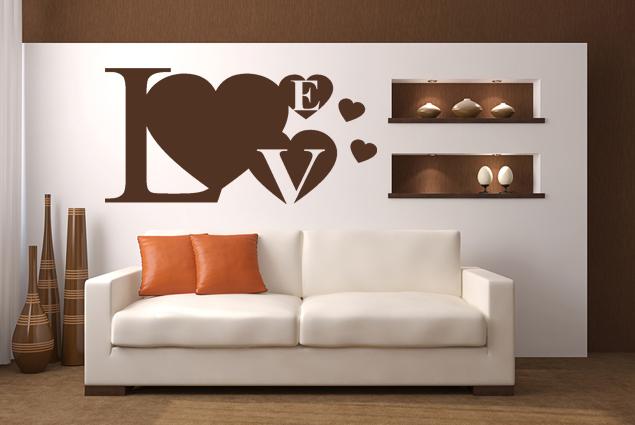 "Wandtattoo ""Love Heart"""