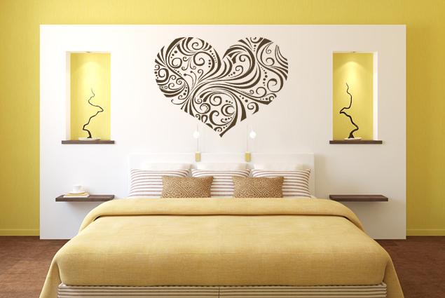 wandtattoo zauberherz 3 online bei print it all kaufen. Black Bedroom Furniture Sets. Home Design Ideas