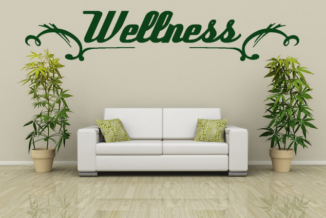 "Wandtattoo ""Wellness"""