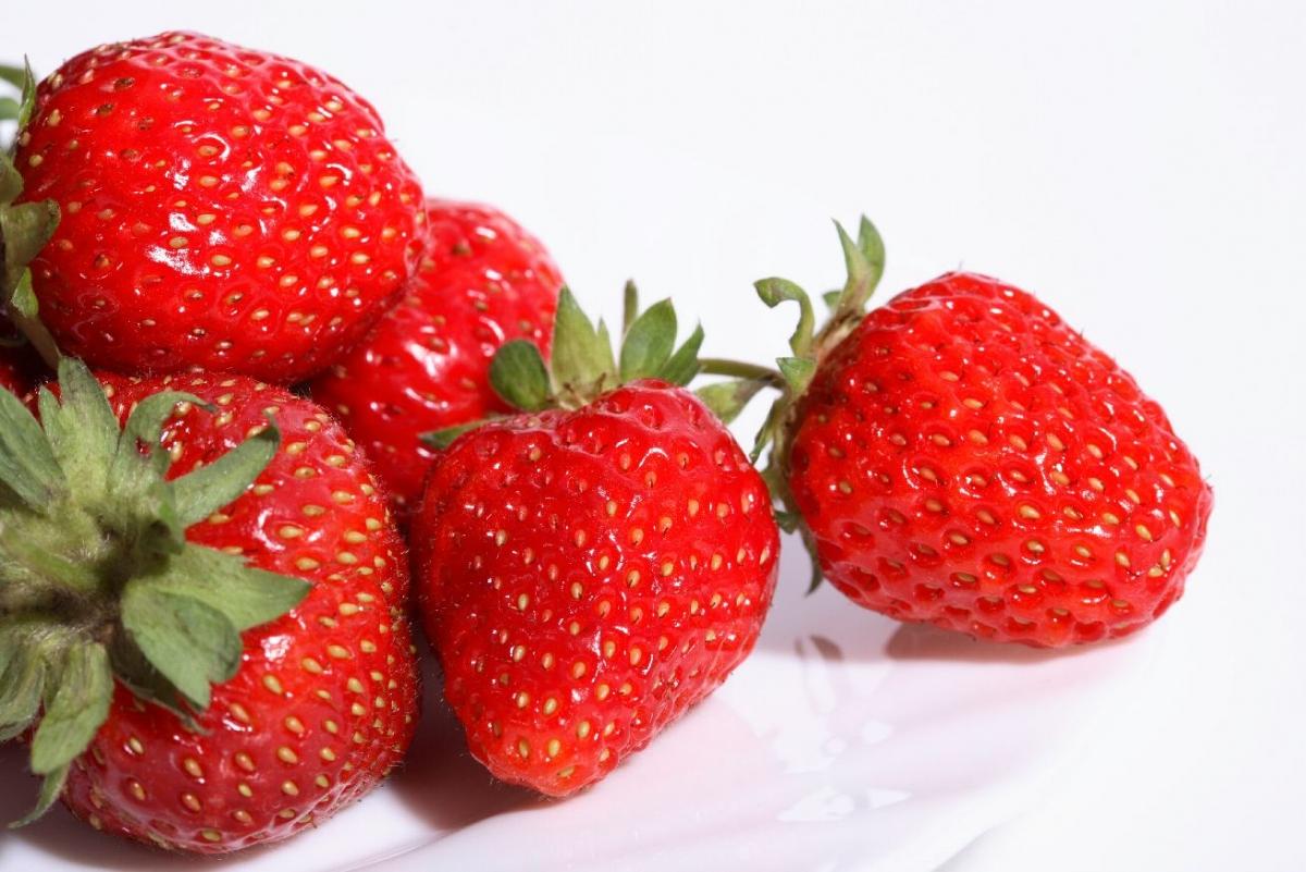 """Poster """"Erdbeeren"""""""
