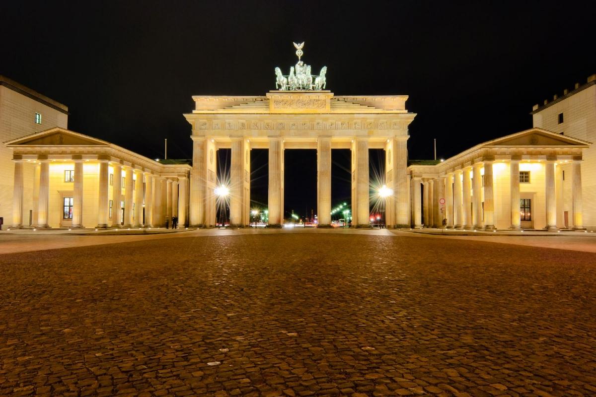 """Wallprint """"brandenburg gate"""""""