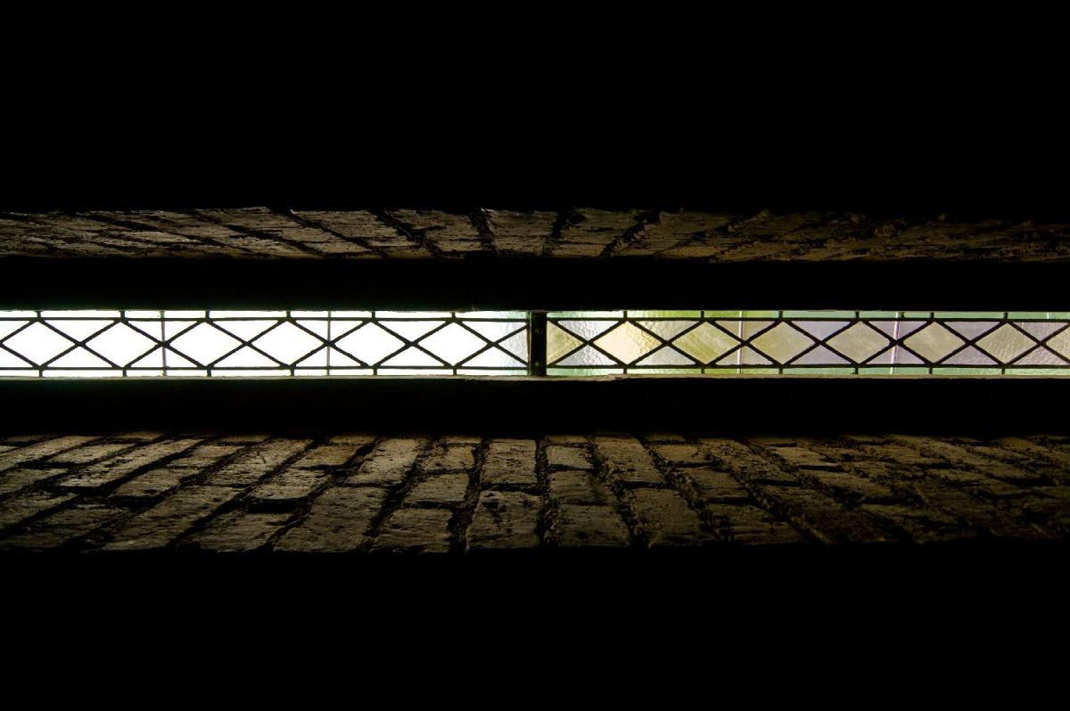 """Wallprint """"stripe of light"""""""