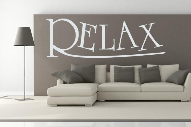 Wandtattoo relax online bei print it all kaufen - Wandtattoo relax ...