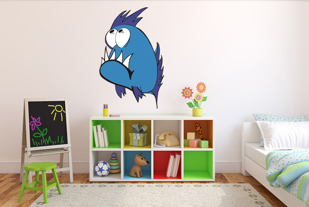 Blauer Fisch