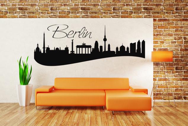 "Wandtattoo ""Skyline Berlin"""
