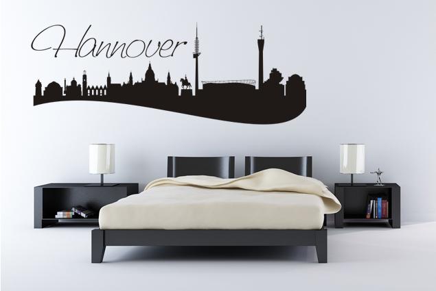 "Wandtattoo ""Skyline Hannover"""