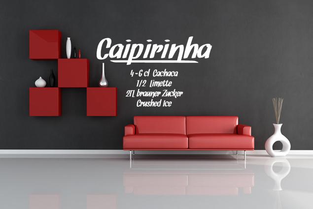 """Wandtattoo """"Caipirinha"""""""