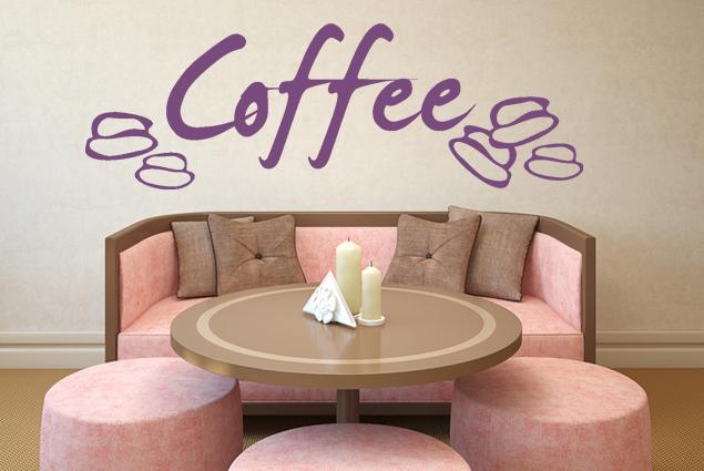 "Wandtattoo ""Coffee"""