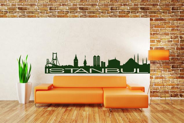 wandtattoo istanbul online bei print it all kaufen. Black Bedroom Furniture Sets. Home Design Ideas