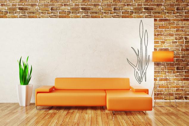 wandtattoo schilf online bei print it all kaufen. Black Bedroom Furniture Sets. Home Design Ideas