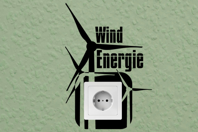 """Steckdosentattoo """"Wind Energie"""""""