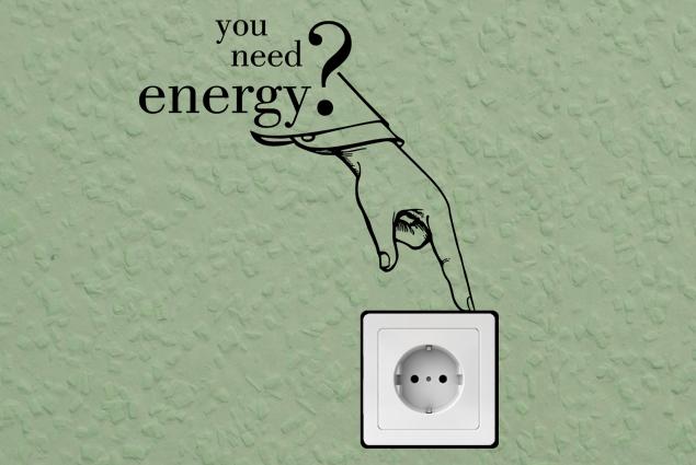 """Steckdosentattoo """"you need energy?"""""""