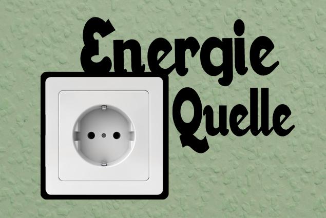 """Steckdosentattoo """"Energie Quelle"""""""