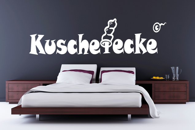 "Wandtattoo ""Kuschelecke 2"""