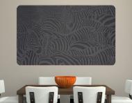 Wallprint Zebras schwarz