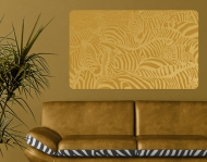 Wallprint Zebras beige