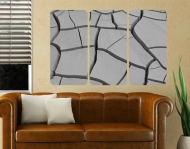 Wallprint African Earth Triptychon I