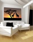 Wallprint African Sunset