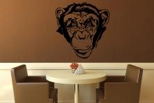 """Wandtattoo """"Schimpansengesicht"""""""