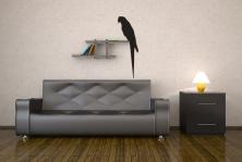 Lufttiere wandtattoos online bei print it all kaufen - Wandtattoo papagei ...