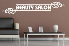 "Wandtattoo ""Beauty Salon"""