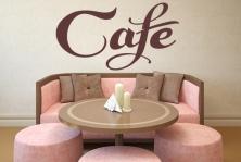 "Wandtattoo ""Cafe"""