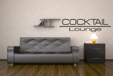 "Wandtattoo ""Cocktail Lounge"""