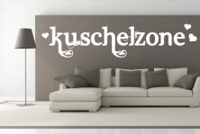 "Wandtattoo ""Kuschelzone"""