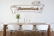 """Wandtattoo """"Stammtisch"""""""