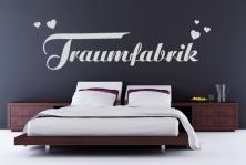 """Wandtattoo """"Traumfabrik"""""""