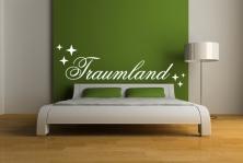 "Wandtattoo ""Traumland"""