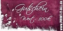 """Gutschein """"100,00€"""""""