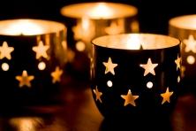 """Wallprint """"enchanting candlelight"""""""