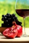 """Poster """"Wein und Trauben"""""""