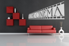 "Wandtattoo ""Home Cinema"""