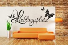 """Wandtattoo """"Lieblingsplatz"""""""