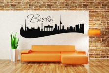 "Wandtattoo ""Skyline Berlin"""