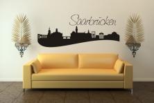"Wandtattoo ""Skyline Saarbrücken"""
